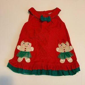 Baby Nanette Corduroy Christmas Dress 24 Months